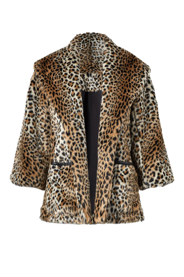 Leopard Topper Jacket