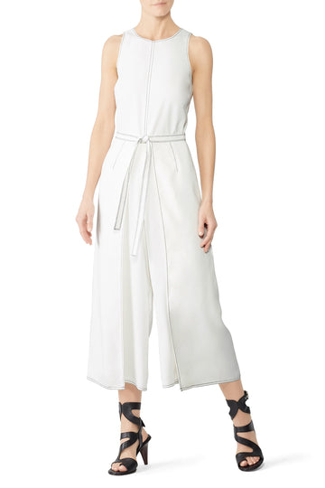White Mairead Jumpsuit