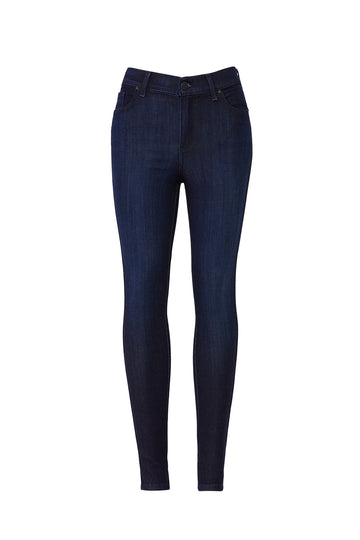 Medium Blue High Rise Skinny Jeans