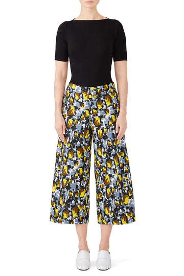 Cropped Citrus Trousers