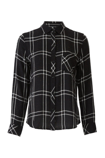 Speckled Black Hunter Flannel