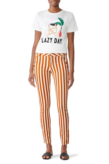 La Bohemienne Striped Pants