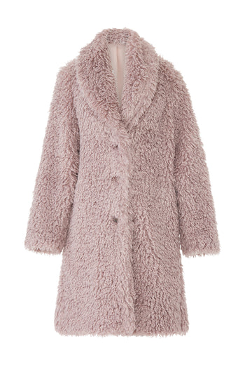 Down This Road Faux Fur Coat
