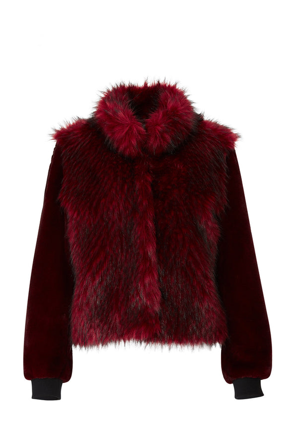 Gisela Faux Fur Coat