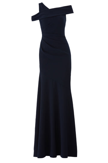 Navy Mermaid Gown