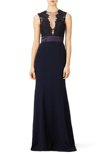 Deep Midnight Gown