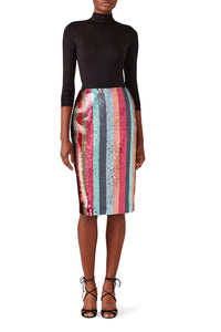 Sequin Samia Skirt