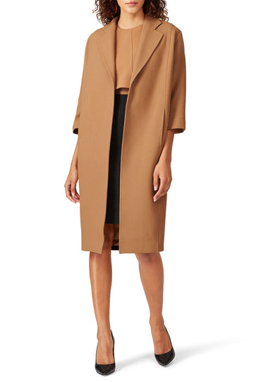 Colorblock Overcoat