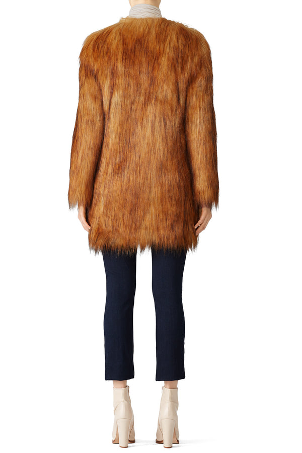 Wanderlust Faux Fur Coat
