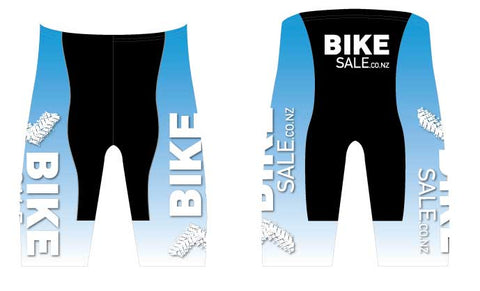 Bike Sale Branded Shorts - Blue