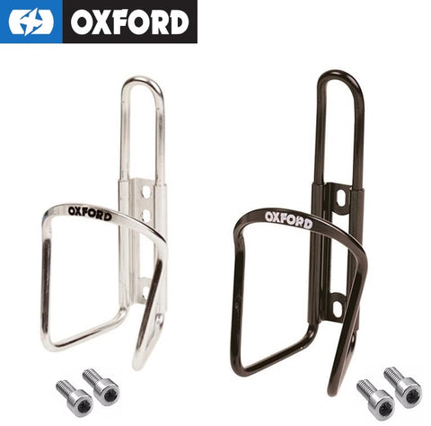WATER BOTTLE CAGE ALLOY SILVER OXFORD