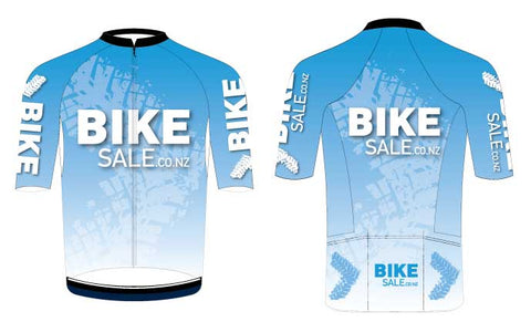 Bike Sale Branded Jersey  - Blue