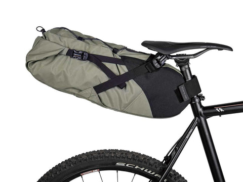 Topeak Bikepacking Backloader 15L Green Seatpost mount bag w/ waterproof inner bag