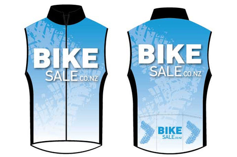Bike Sale Branded Vest - Blue