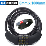 Oxford Combination Cable Lock - 8mm x 1.8m