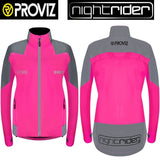 Proviz Nightrider Jacket - Womens Pink