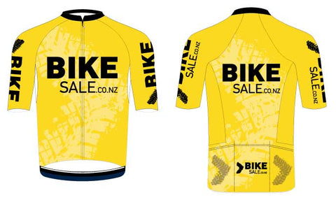 Bike Sale Branded Jersey  - Yellow