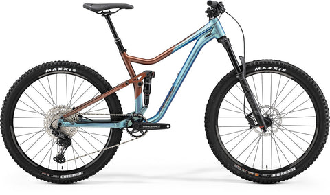 Merida One Forty 600 - Blue/Bronze