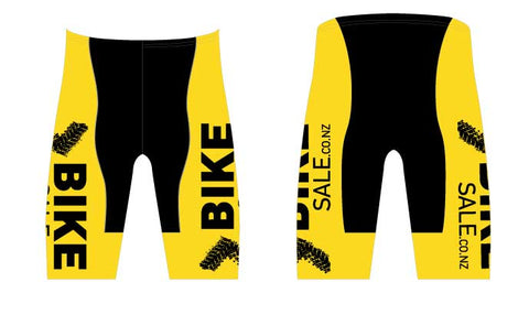 Bike Sale Branded Shorts - Yellow