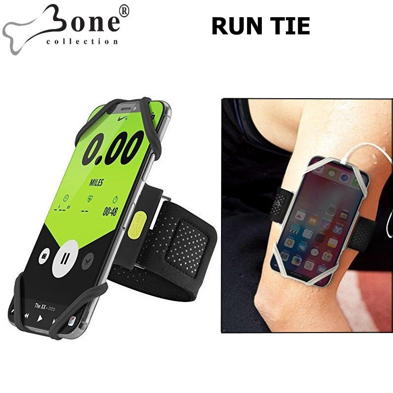 Run Tie 2 ARMBAND Smartphone Holder - Black