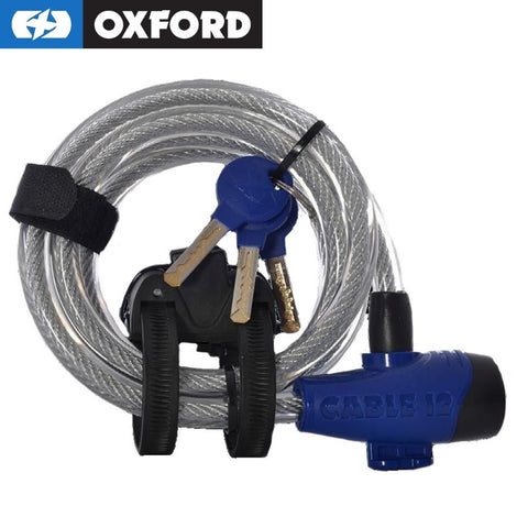 Oxford Key Cable Lock - 12mm x 1.8m