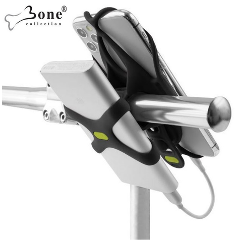 Bike Tie 4 Smartphone H/Bar Holder w/ powerbank strap