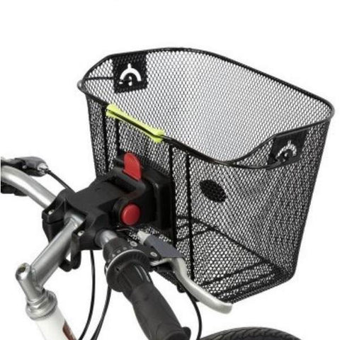 Wire Basket with Quick Release