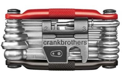 CrankBrothers Tool Multi 19 Matte Black / Red