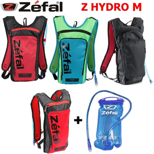 Hydro - Small Zefal black / red