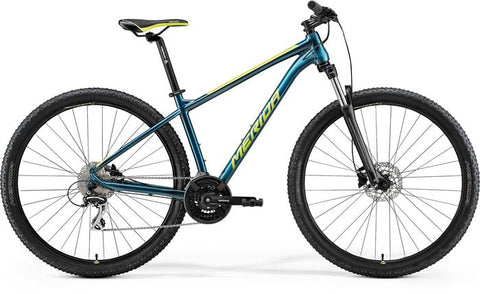 Merida Big Nine 20 - Teal Blue/Lime