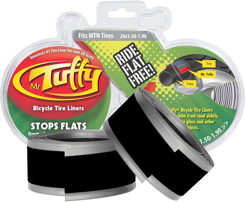 Mr. Tuffy Tyre Liner Pair Purple Ultra lite 700 x