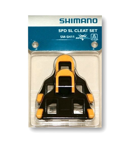 SMSH11 SPDSL CLEAT SET FLOATING MODE YELLOW