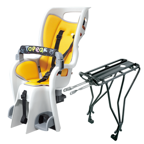 Topeak Baby Seat II with Non-Disc Rack for 26, 27.5, 700c