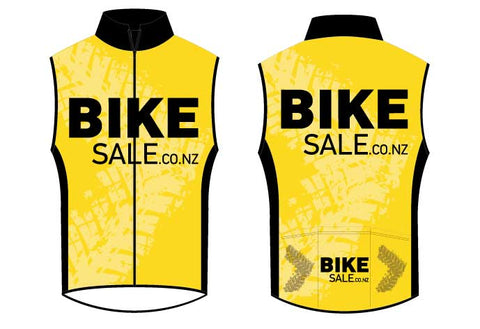 Bike Sale Branded Vest - Yellow