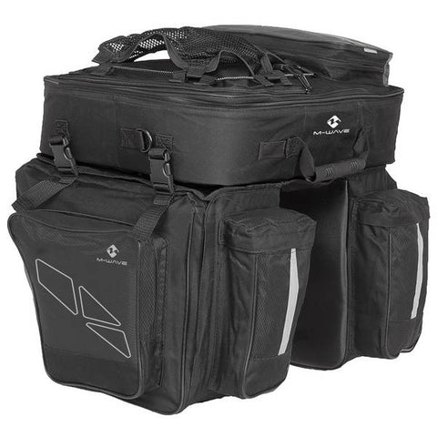 M-WAVE Amsterdam Triple Pannier Bag (62L)
