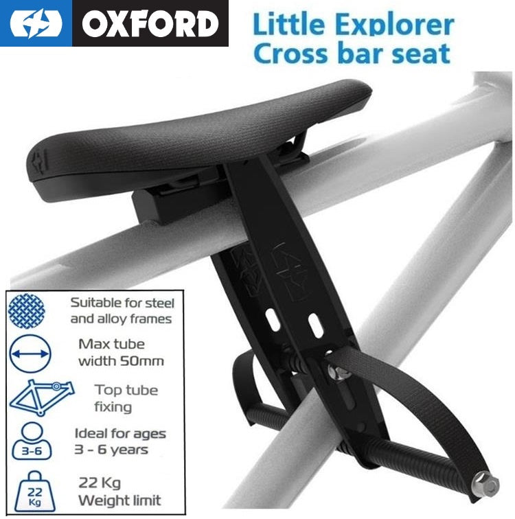 Top Tube Child Carrier - Oxford