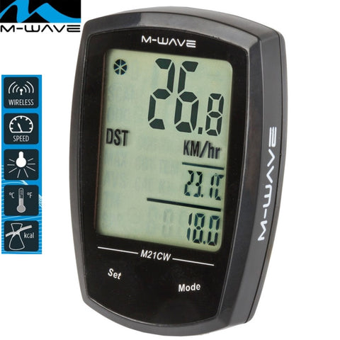 M-WAVE M21W Wireless 21 Function Bicycle Computer