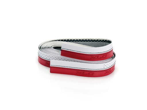 XLC BAR TAPE STITCHED RED BLACK