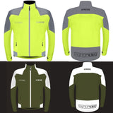 waterproof cycling jacket | fluro cycling jacket | reflective cycling jacket
