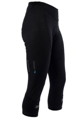 Halcyon Tights 3/4 Thermal Mens Black XS