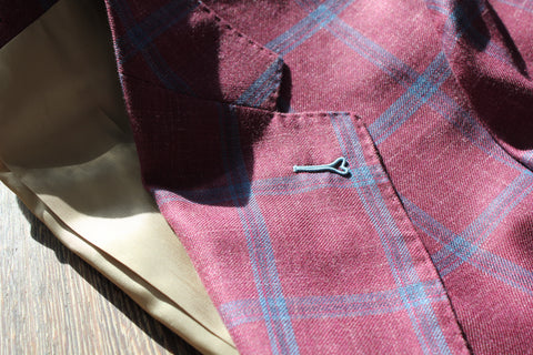 Milanese Button Hole - Kale & Co Bespoke Tailors
