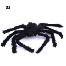 Load image into Gallery viewer, Super big plush spider made of wire