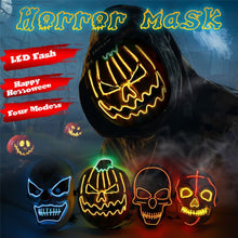 Load image into Gallery viewer, Party EL Mask Cosplay Costume Supplies