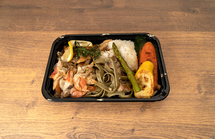 Chicken & Shrimp Bento