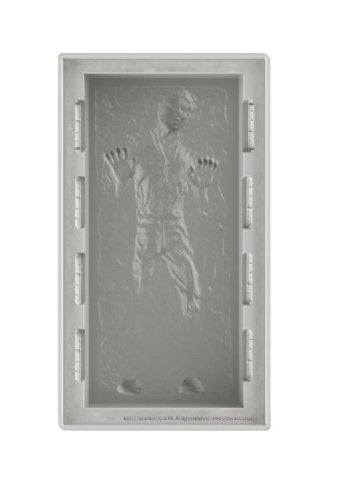 Star Wars Silicone Tray Deluxe Han Solo In Carbonite