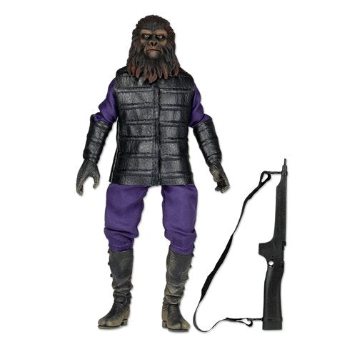 "Planet Of The Apes Clothed 8"" Action Figure Classic Gorilla Soldier"