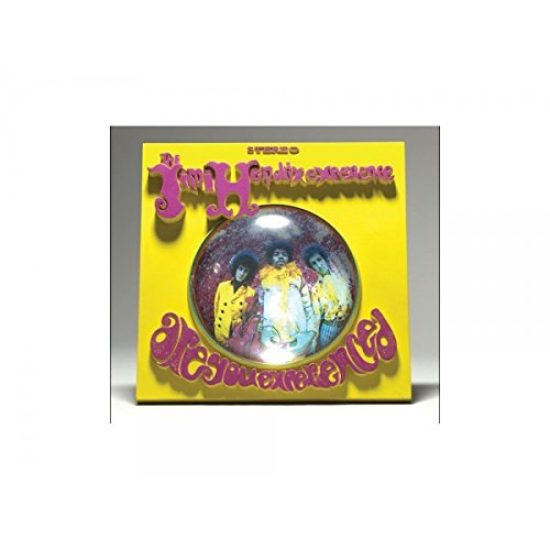 Jimi Hendrix Are You Experienced Album Cover 3D