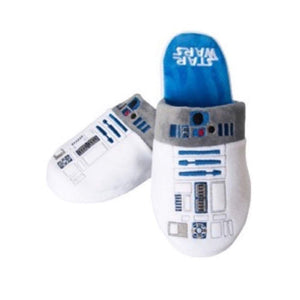 R2D2 Star Wars Slip-On Slippers Large