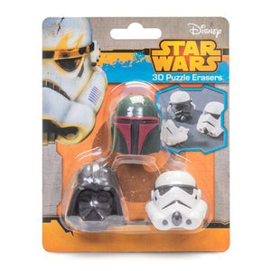 Star Wars (3D Puzzle) Erasers