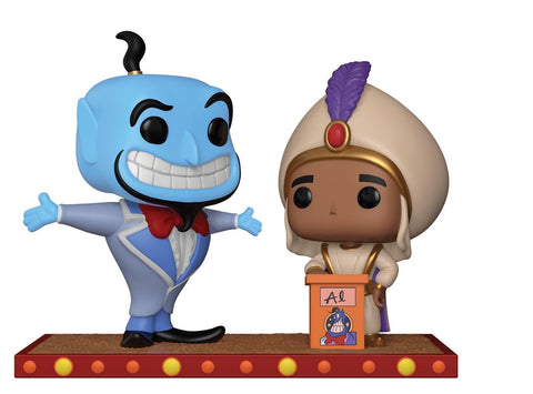 Pop! Disney Aladdin And Genie First Wish
